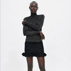 Zara glitter turtleneck